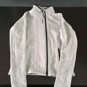 Gray Zip Up: Reebok
